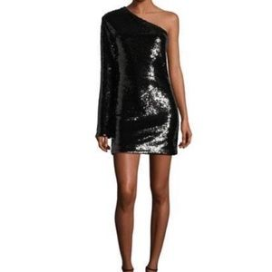 MOVING SALE 50%RTA Eddie Sequined one sleeve dress